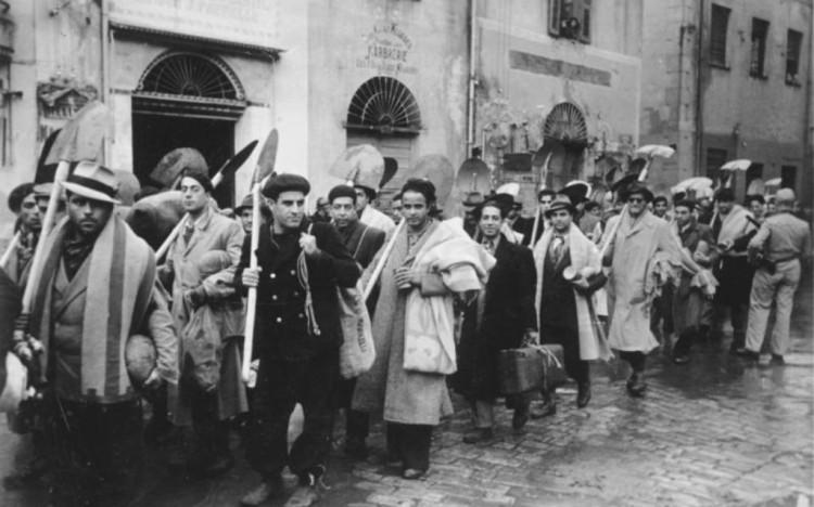 Tunis, Arbeitseinsatz von Juden