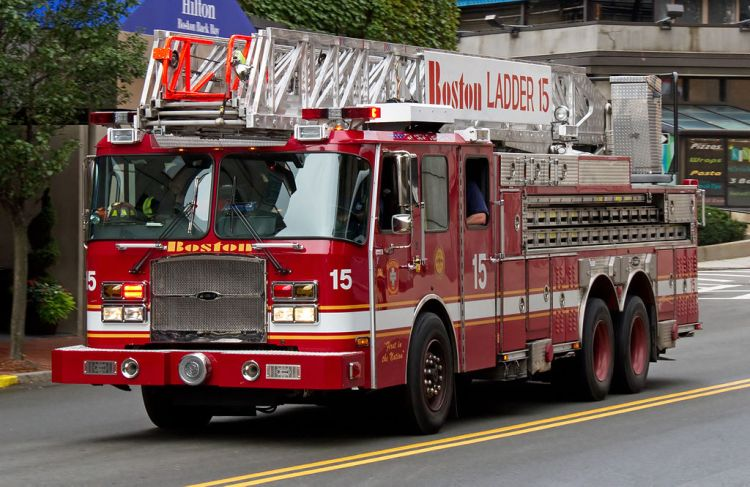 Boston-Firetruck
