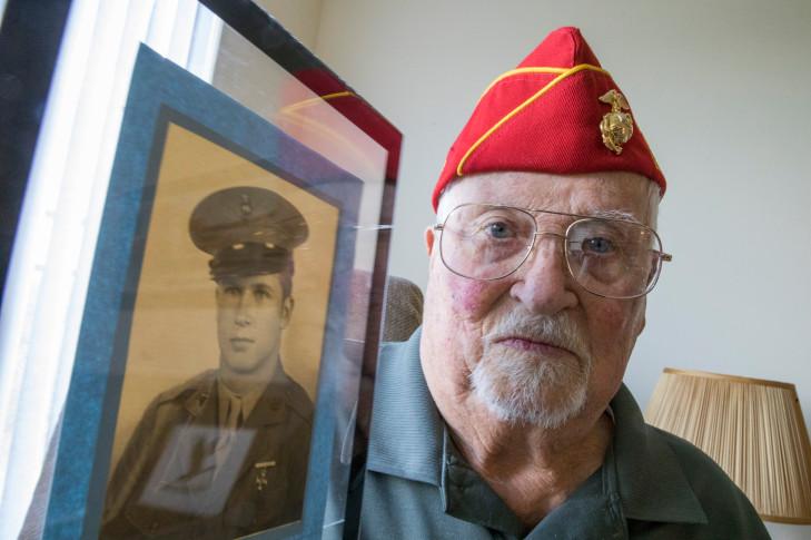 Iwo Jima Veteran Albert Richards